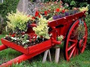 Carro de Flores