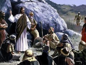Jesus Evangelizando os Seus Discípulos